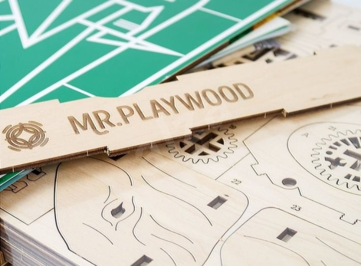 Mr. Playwood 3D elefánt - Építőjáték