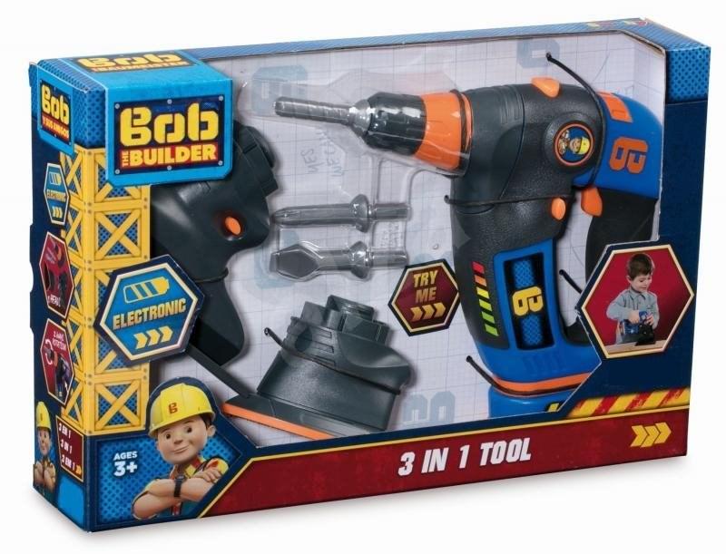 Smoby Bob  a mester Szerszám 3 az 1-ben - Játék szett