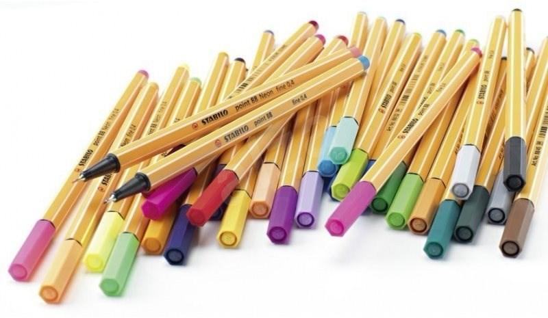 Stabilo Point 88 30 szín - Filctoll