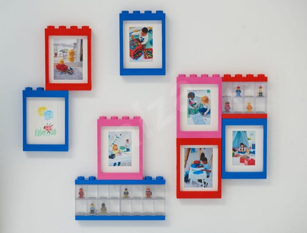 LEGO képkeret - rózsaszín - Képkeret