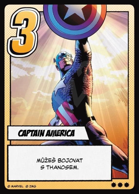 MARVEL: Infinity kesztyű - Kártyajáték