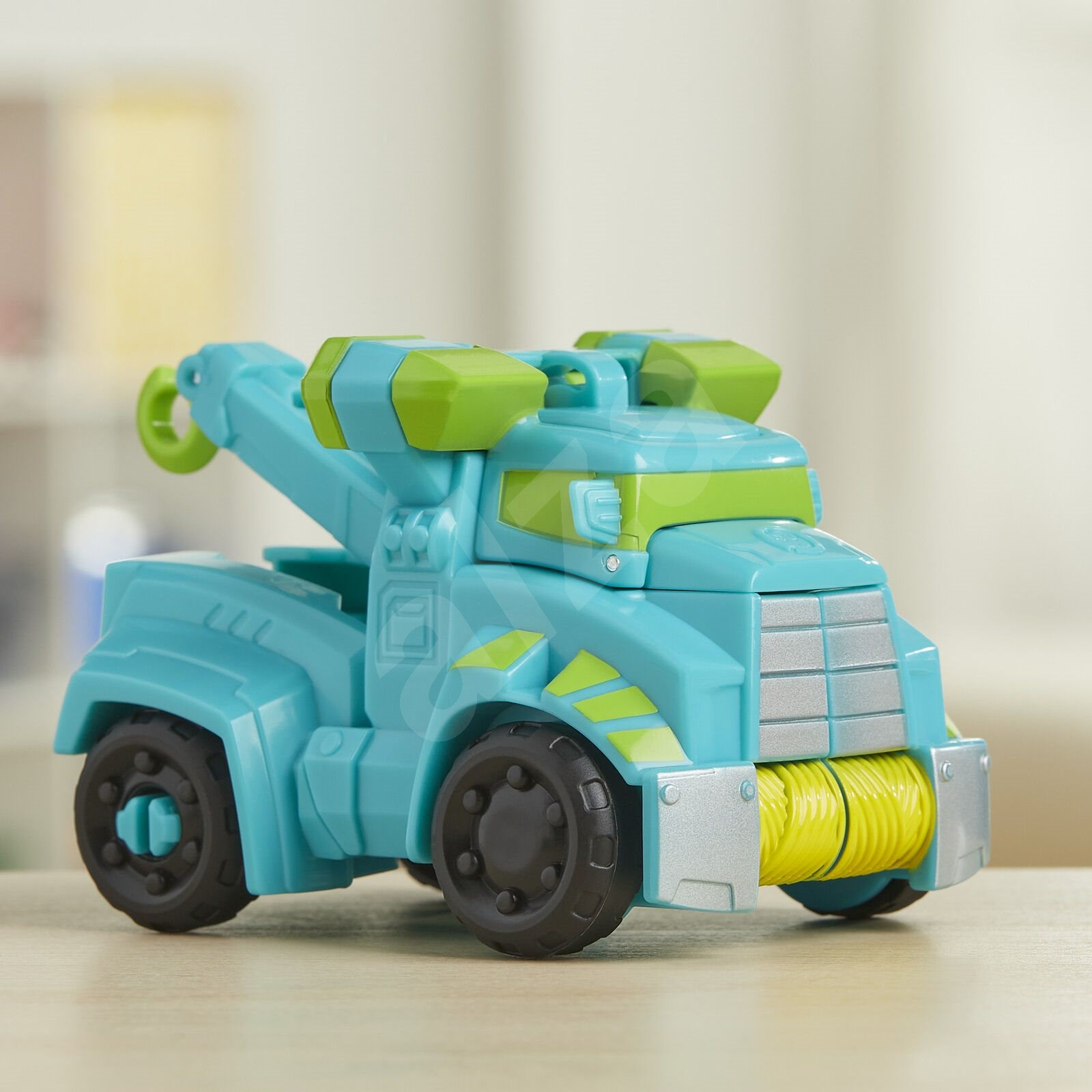 Transformers Rescue Bot Hoist RescueTrailer Autó utánfutóval - Robot autó