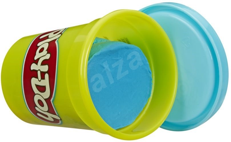 Play-Doh készlet 12 db kék tégely - Gyurma