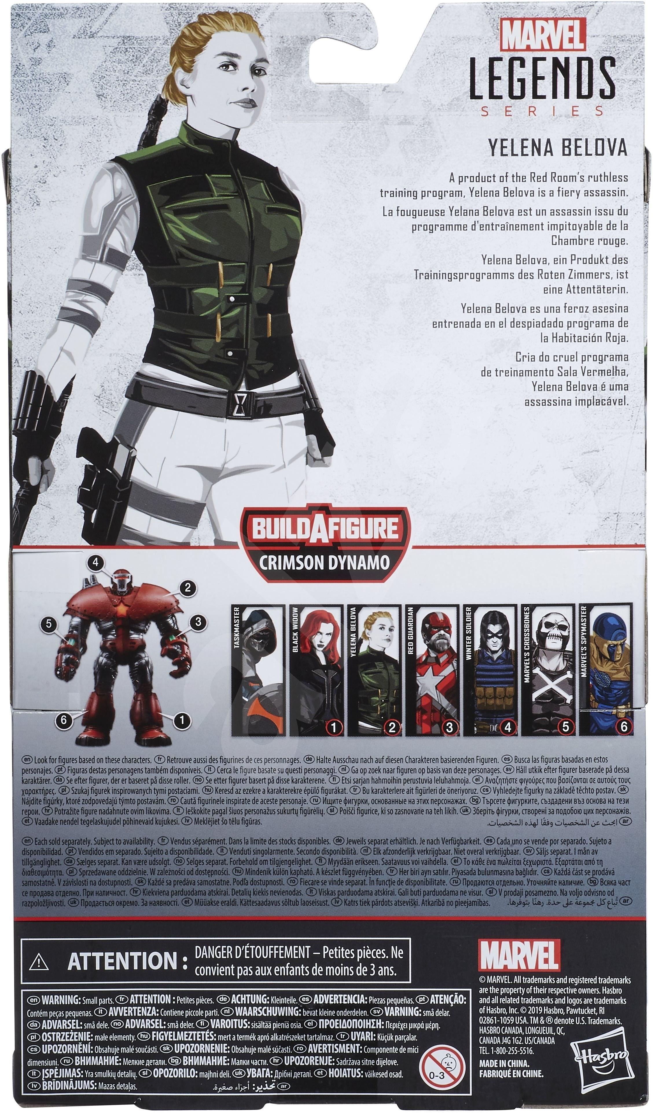 Avengers Legends Gyűjthető sorozat - Yelena Belova - Figura
