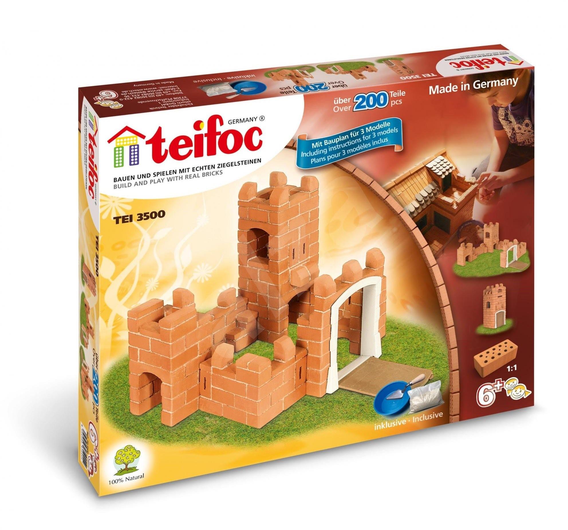 Teifoc - Rosa - Építőjáték