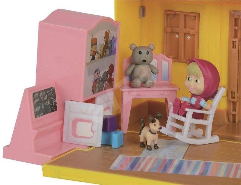 Simba Mása és a medve - Mása háza - Babaház