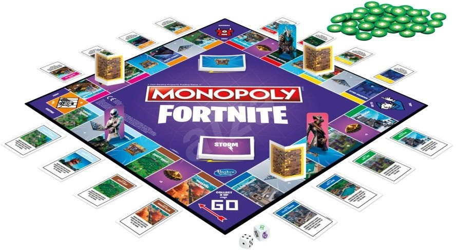 Monopoly Fortnite - Társasjáték