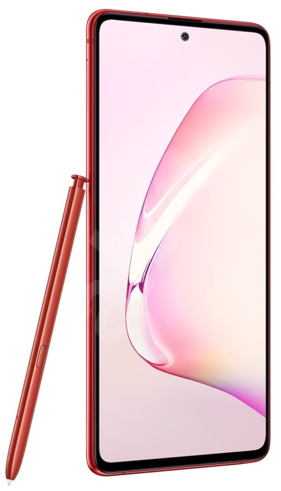 Samsung Galaxy Note10 Lite piros - Mobiltelefon