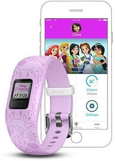 Garmin vívofit junior2 Disney Princess Purple - Okoskarkötő.