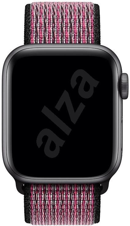 Apple Watch 40mm rózsaszín robbanás-bogyólila Nike sportpánt - Szíj