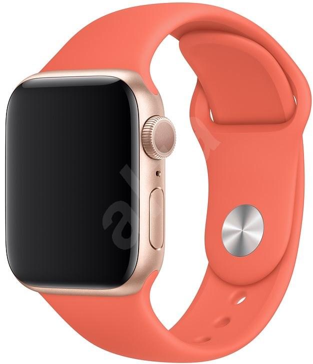 Apple Watch 40mm klementinszínű sportszíj - S/M és M/L - Szíj