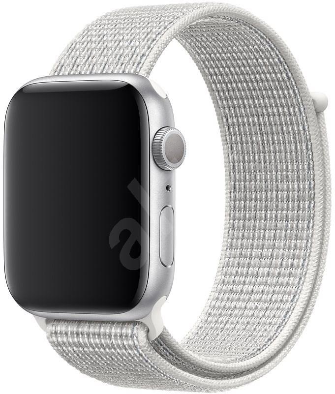 Apple Watch 44mm hegycsúcsfehér Nike sportpánt - Szíj