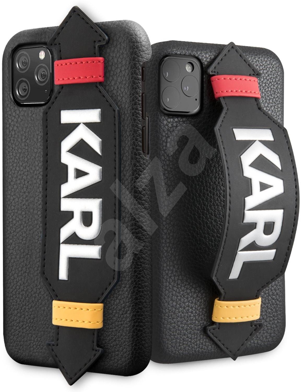 Karl Lagerfeld Strap tok iPhone 11 Pro Max készülékhez  fekete - Mobiltelefon hátlap