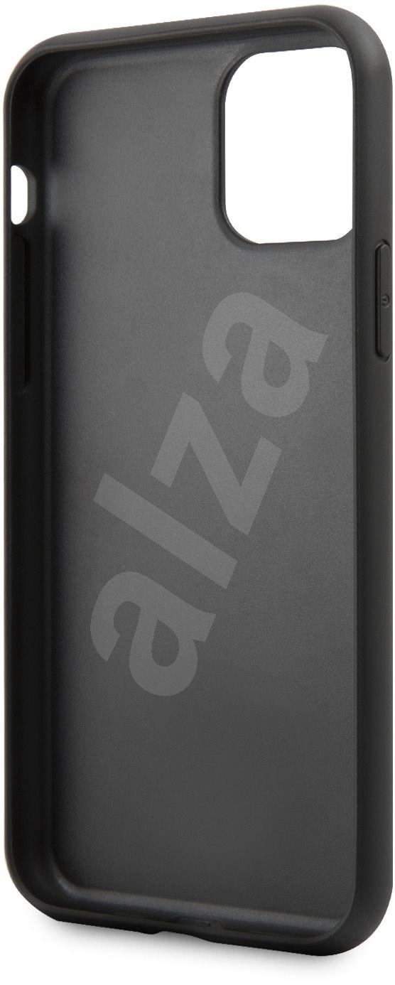 Karl Lagerfeld Saffiano Iconik iPhone 11 Black-hez - Mobiltelefon hátlap