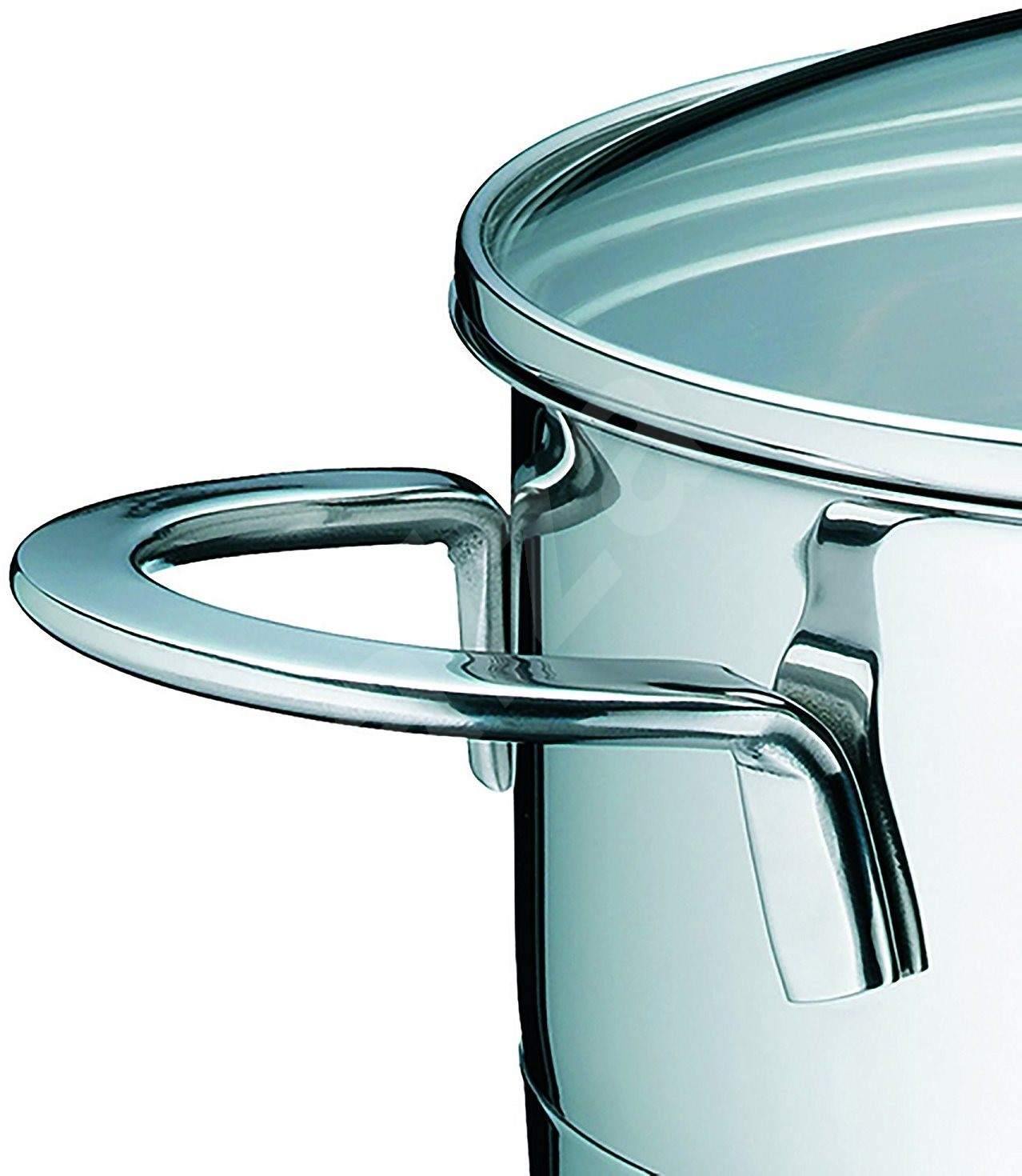 Kela CAILIN rozsdamentes acél edény üveg fedővel  3 5 l - Edény
