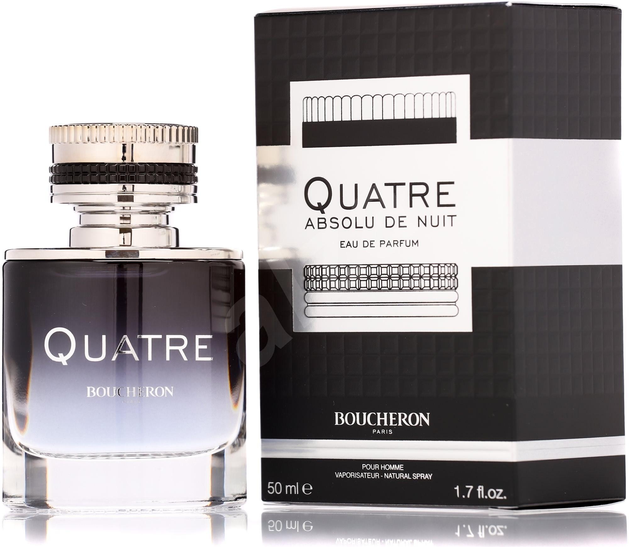 BOUCHERON Quatre Absolu de Nuit pour Homme EdP 50 ml-es férfi parfüm - Férfi parfüm