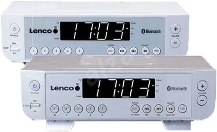 Lenco KCR-100  ezüst - Konyhai rádió