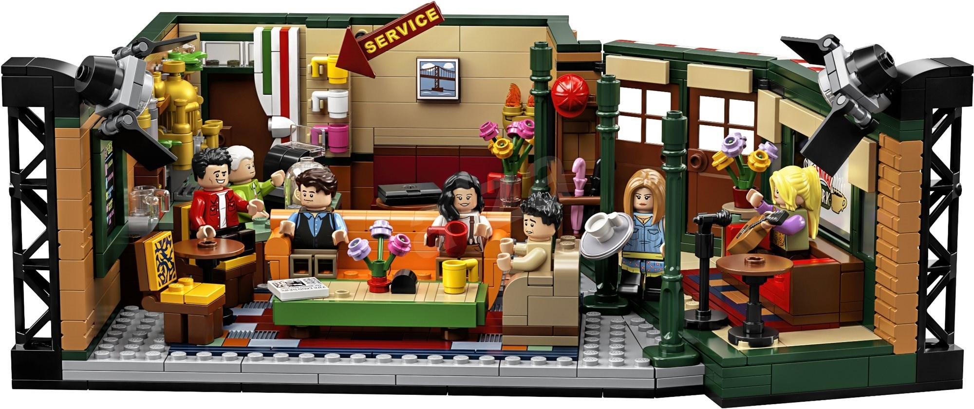 Lego Ideas 21319 Central Perk - LEGO építőjáték