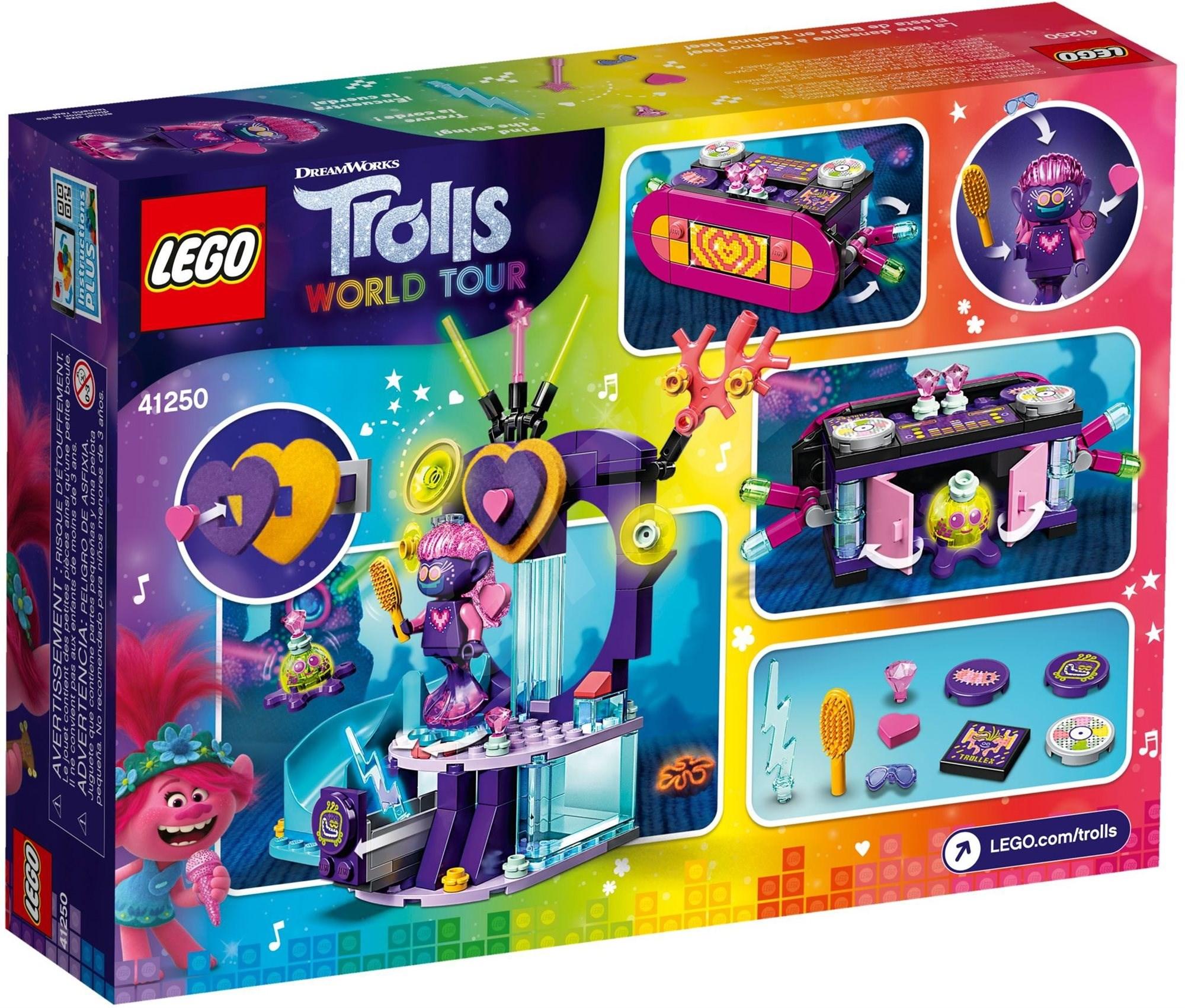 LEGO Trolls 41250 Táncparti a Techno szirten - LEGO építőjáték