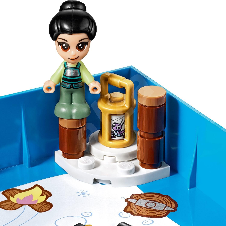 LEGO Disney Princess 43174 Mulan mesekönyve - LEGO építőjáték