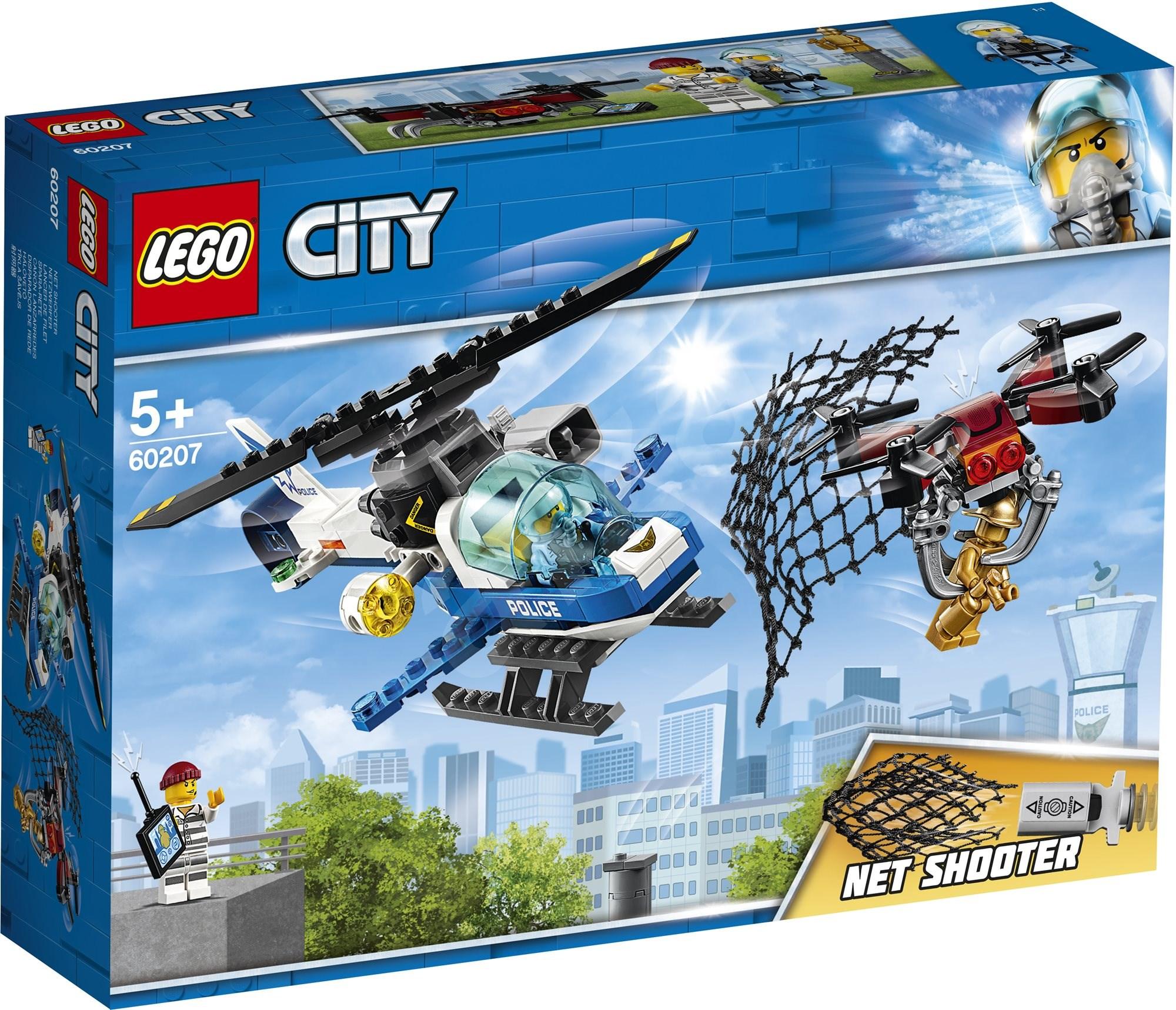 LEGO City 60207 Légi rendőrségi drónos üldözés - LEGO építőjáték