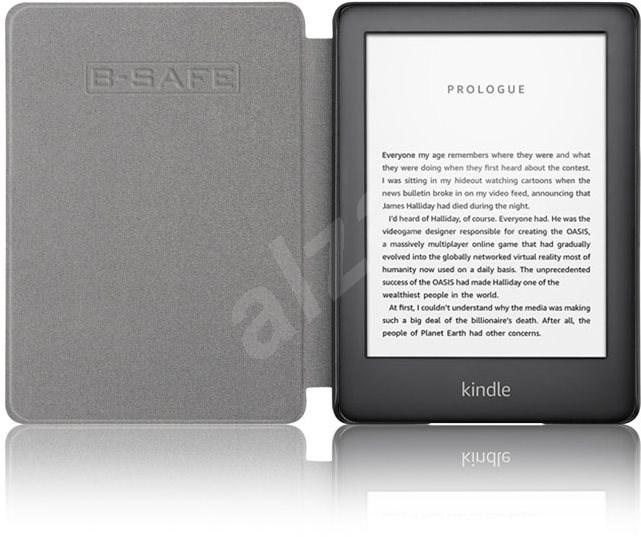 B-SAFE Lock 1287 tok Amazon Kindle 2019 készülékhez  lila - E-book olvasó tok