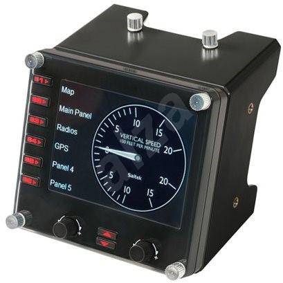 Saitek Pro Flight Instrument Panel - Professzionális vezérlő.