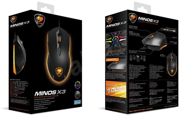 Cougar Minos X3 - Gamer egér