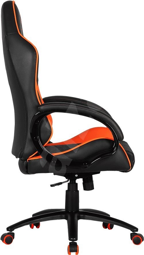 Cougar Fusion fekete-naracs - Gamer szék