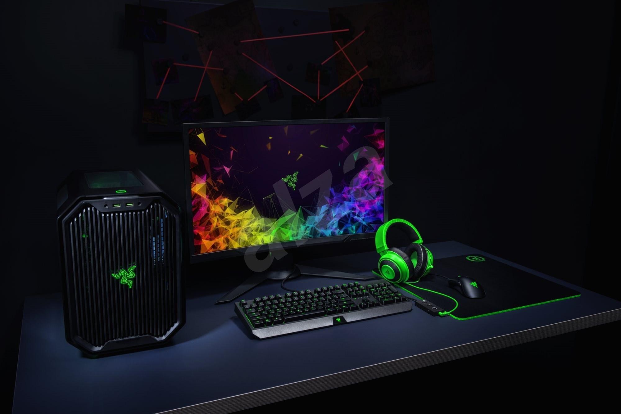 Razer Kraken Tournament Edition zöld - Gamer fejhallgató