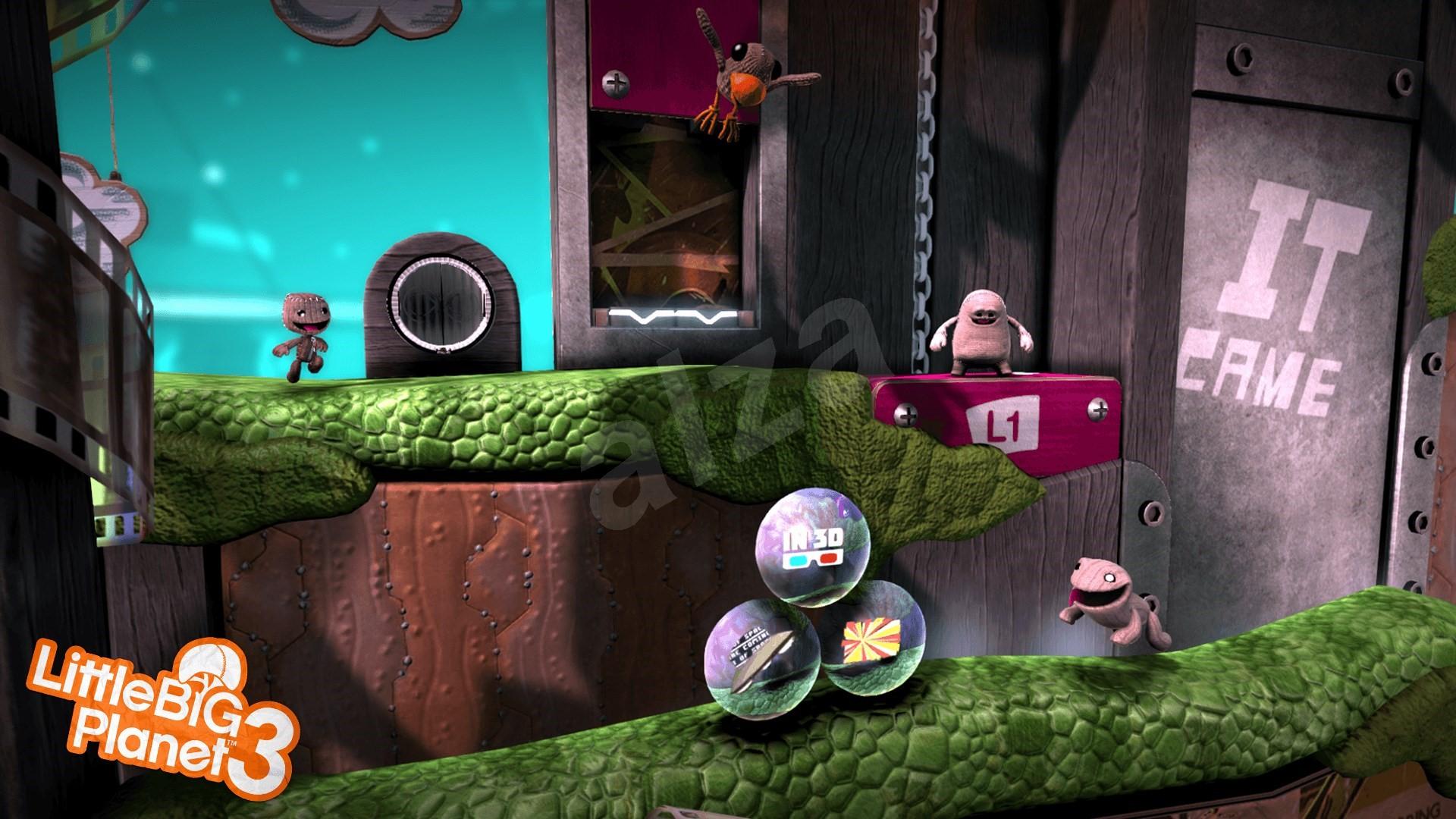 Little Big Planet 3 - PS4 - Konzol játék