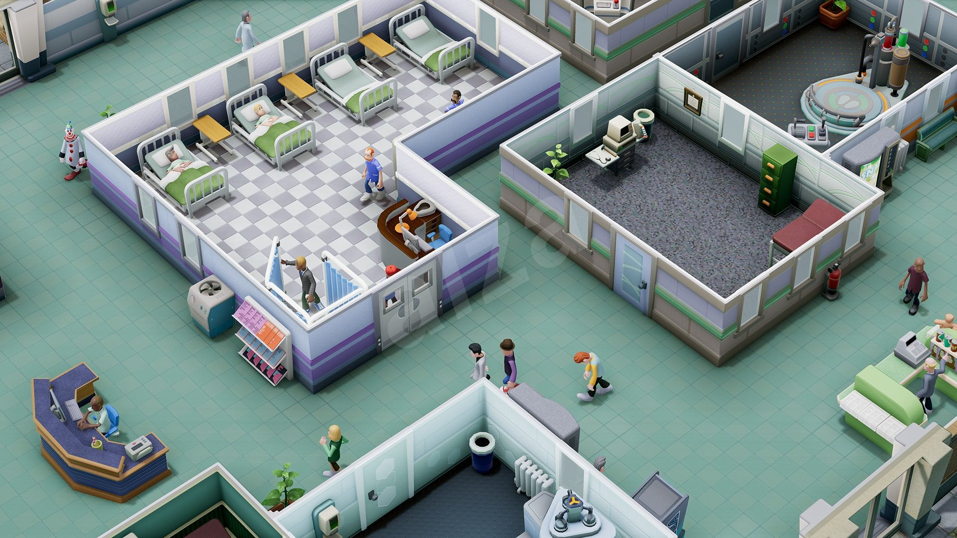 Two Point Hospital - PS4 - Konzol játék