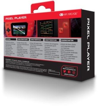 My Arcade Pixel Player - Konzol