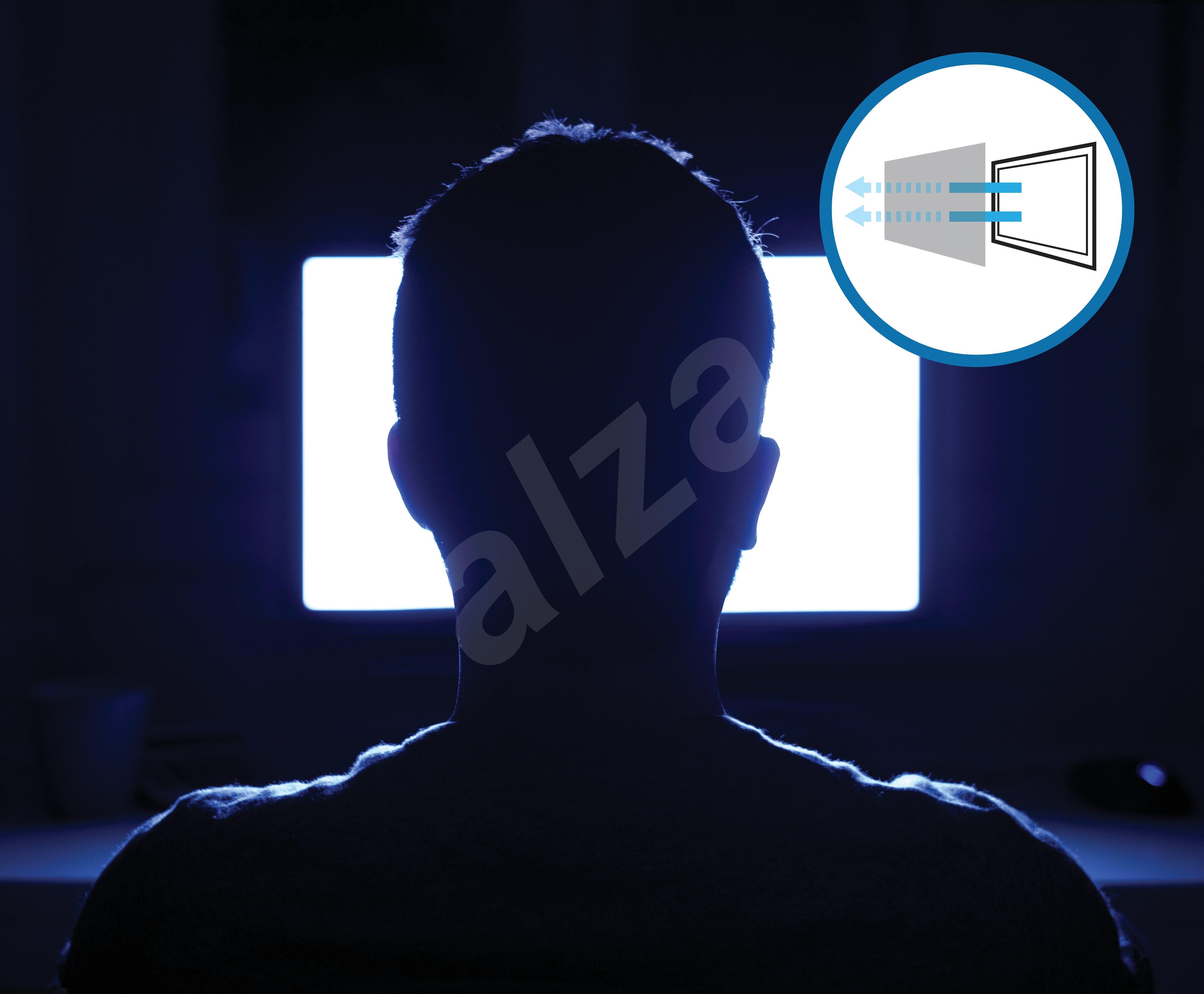 """Kensington az iMac 27""""-hez  kétirányú  levehető - Betekintésvédelmi monitorszűrő"""