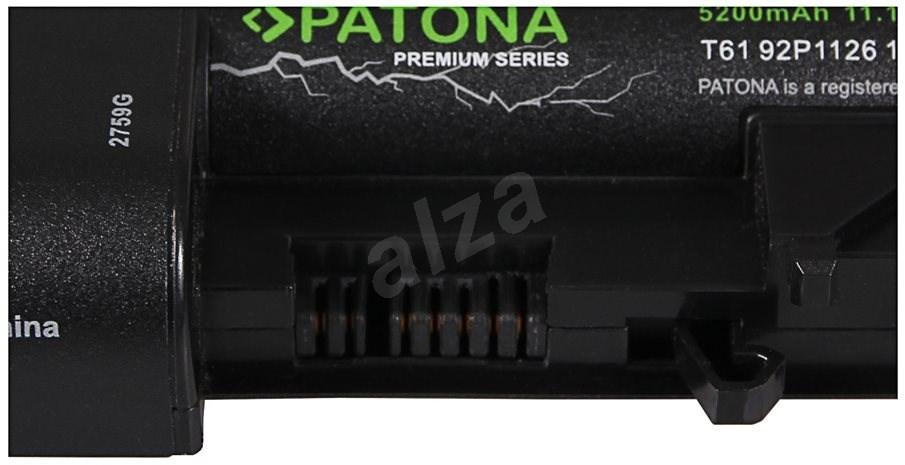 "PATON a LENOVO R61 / T61 14.1 ""5200mAh Li-Ion 11.1V PREMIUM-hoz - Laptop-akkumulátor"