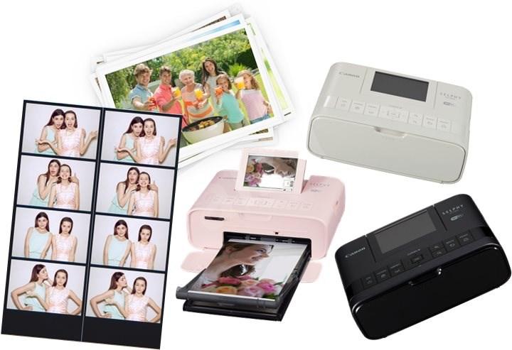 Canon SELPHY CP1300 rózsaszín + KP-36 papír - Hőszublimációs nyomtató