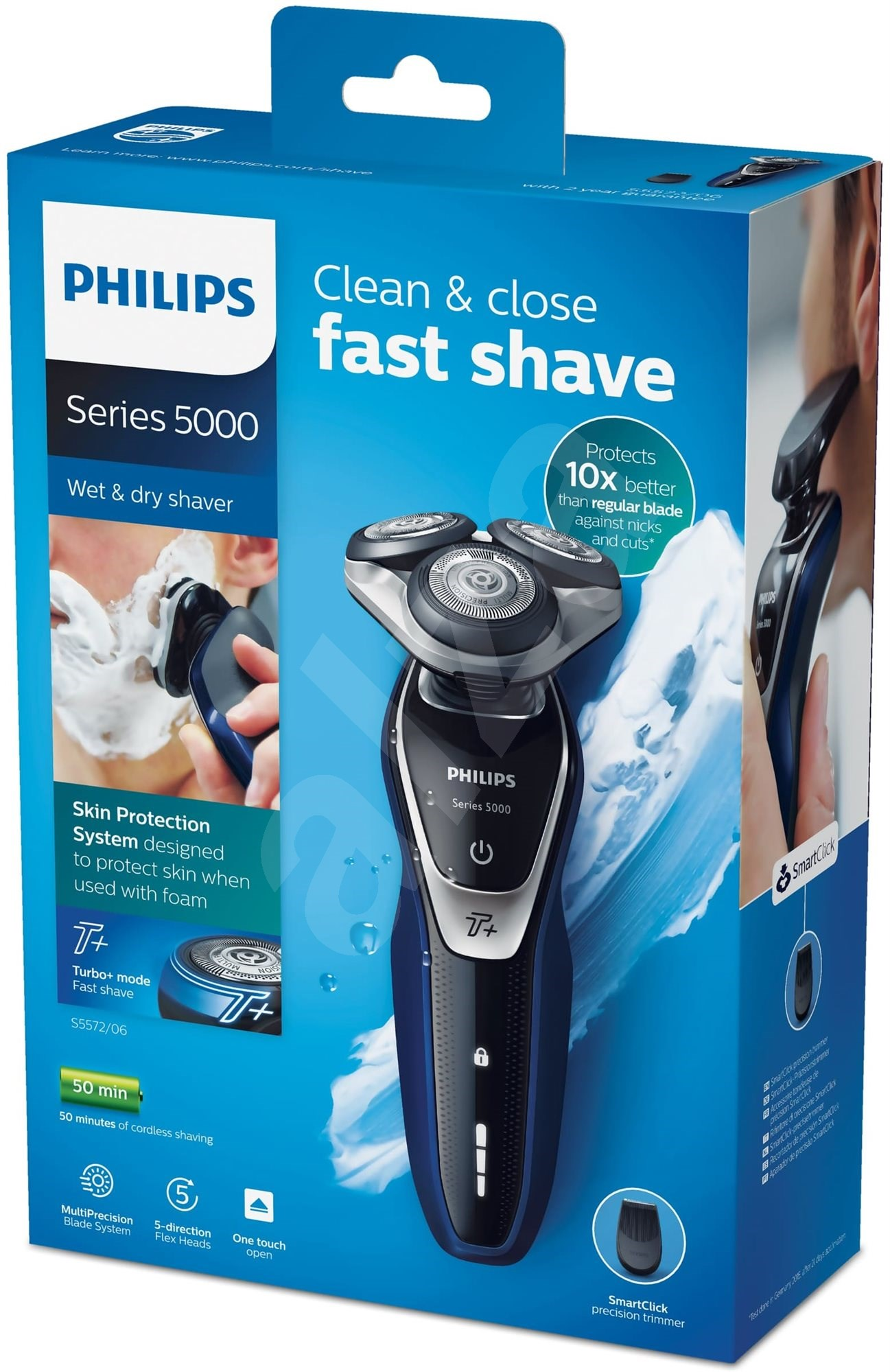 Philips S5572/06 Series 5000 - Borotva