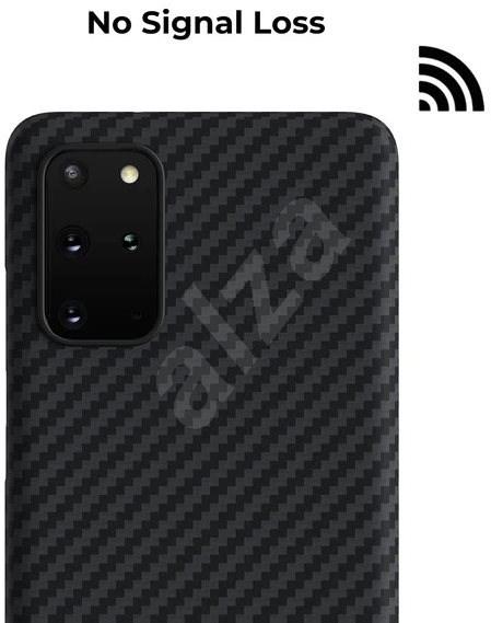 Pitaka MagEZ tok fekete / szürke Samsung Galaxy S20 + - Mobiltelefon hátlap