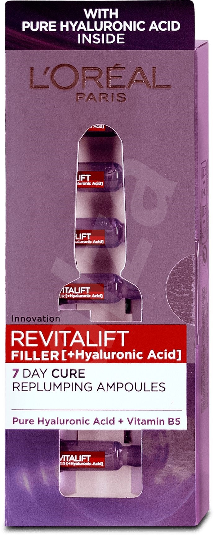 LORÉAL PARIS Revitalift Filler ampullák 7 x 1 3 ml - Ampulla
