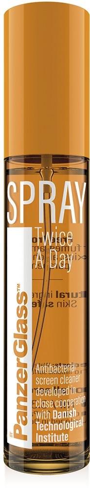 PanzerGlass Spray Twice A Day - antibakteriális fertőtlenítő spray (100 ml) - Tisztító