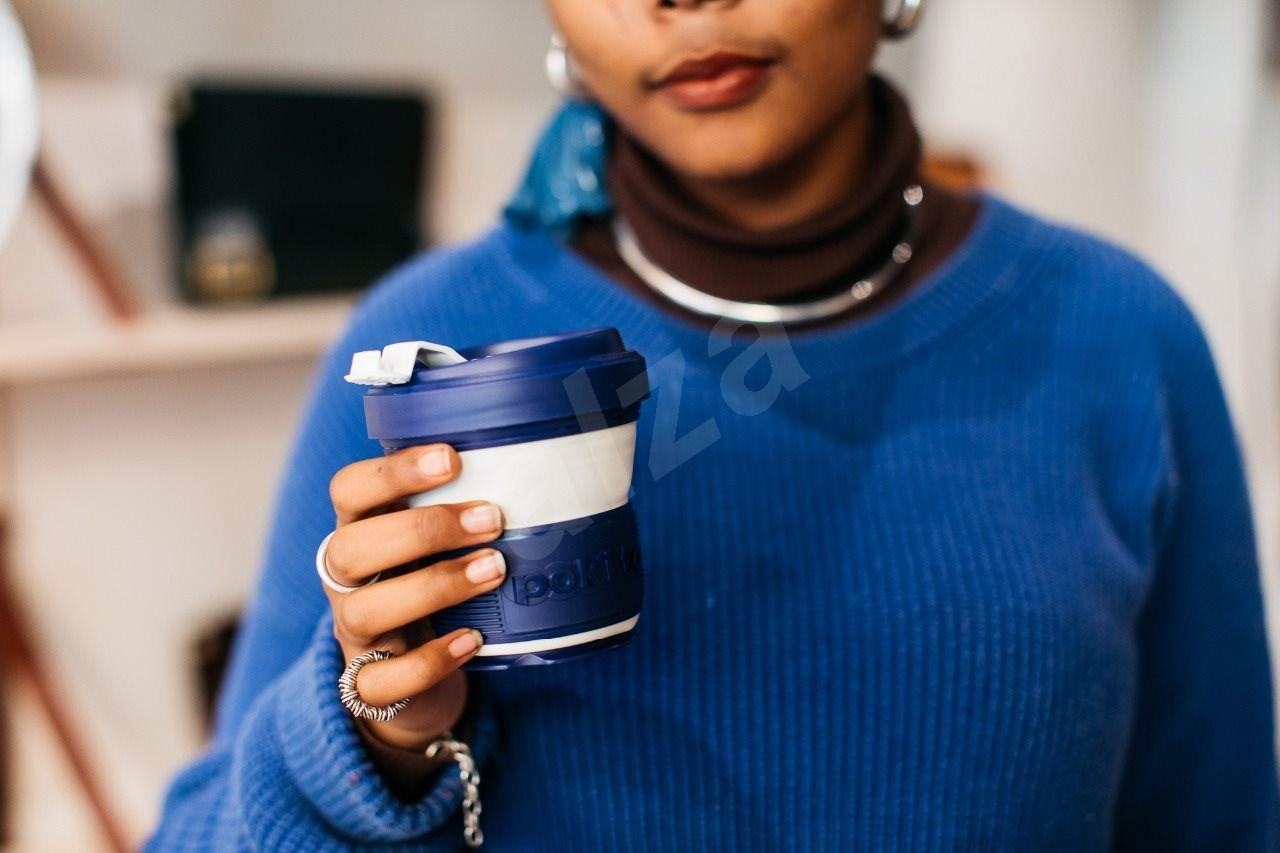 POKITO Összehajtható kávésbögre 3 az 1-ben sütőtöksárga - Bögre