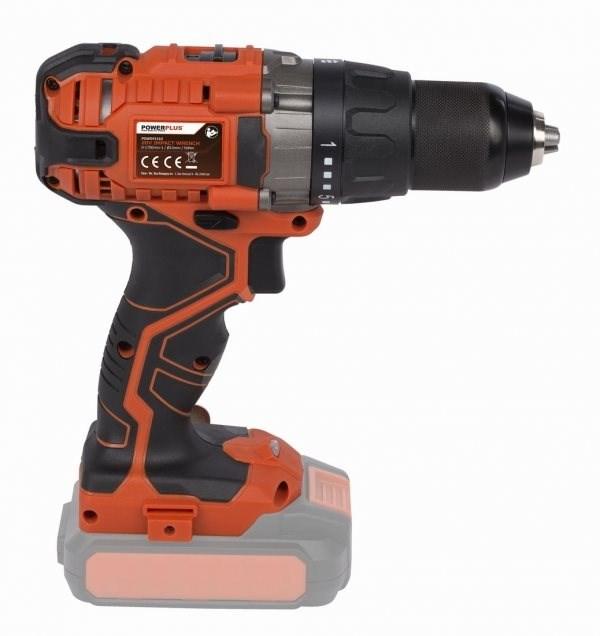 Powerplus POWDP1510 (akkumulátor nélkül) - Akkus fúró-csavarozó