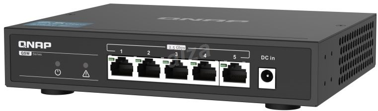QNAP QSW-1105-5T - Switch