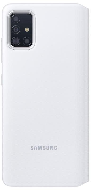 Samsung S View flip tok Galaxy A51 készülékhez  fehér - Mobiltelefon tok