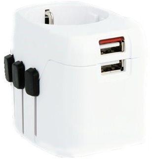 SKROSS WORLD PRO Light USB PA46 - Úti adapter