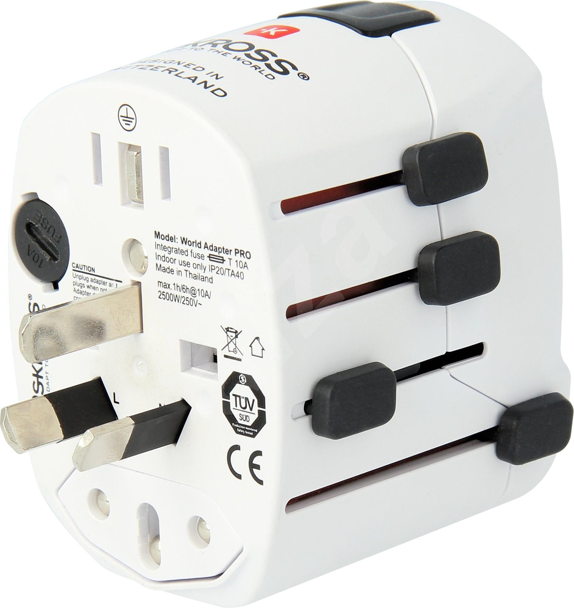 SKROSS PRO World & USB PA41 adapter utazáshoz - Úti adapter