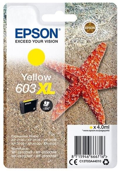 Epson 603XL sárga - Tintapatron