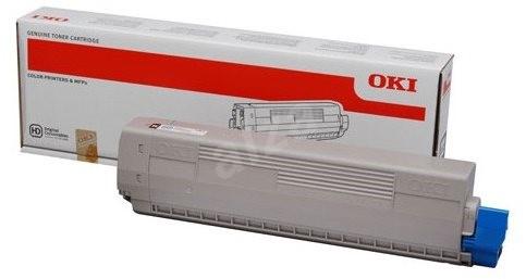 OKI 46508709 sárga - Toner