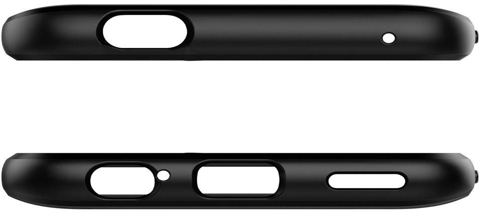 Spigen Rugged Armor Black Honor 9X - Mobiltelefon hátlap