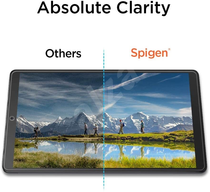 "Spigen Glas.tR SLIM Samsung Galaxy Tab A 10.1"" - Képernyővédő"
